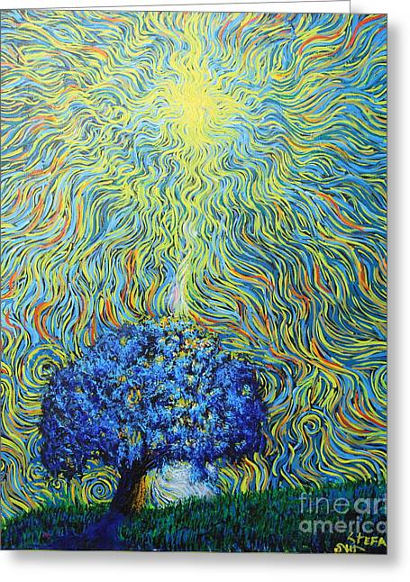 Shine Down On Me Greeting Card by Stefan Duncan