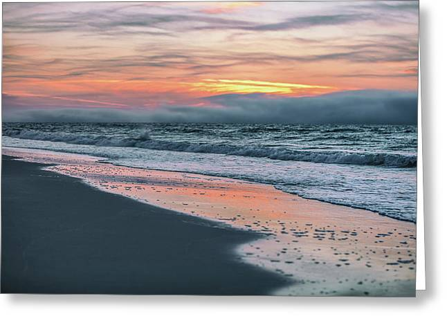 Greeting Card featuring the photograph Shine On Me Beach Sunrise  by John McGraw