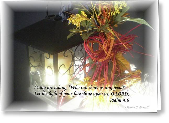 Shine Upon Us O Lord Greeting Card