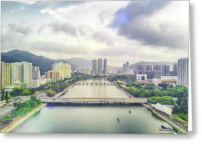 Shing Mun River Greeting Card