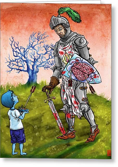 Shining Armor Greeting Card