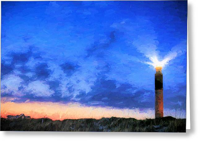 Shining Greeting Card by JC Findley