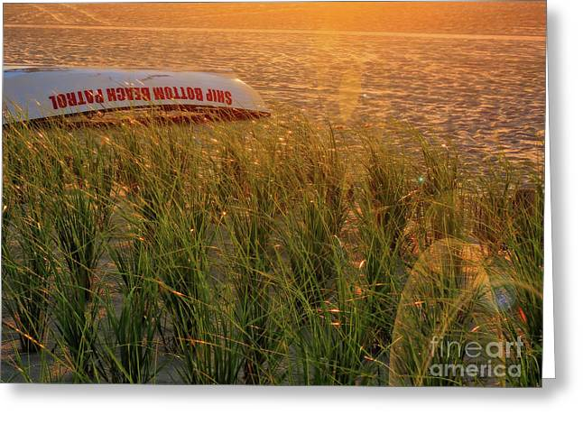 Ship Bottom Beach Patrol Greeting Card by Jeff Breiman