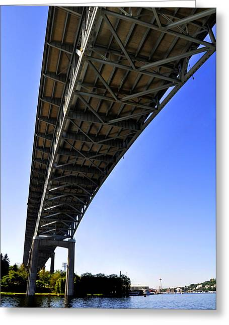 Ship Canal Bridge Greeting Card
