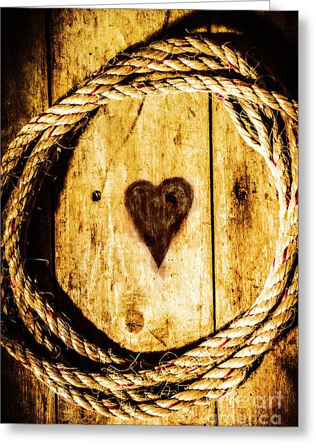 Ship Shape Heart Greeting Card by Jorgo Photography - Wall Art Gallery