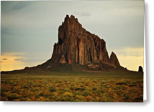 Shiprock, Winged Rock Greeting Card