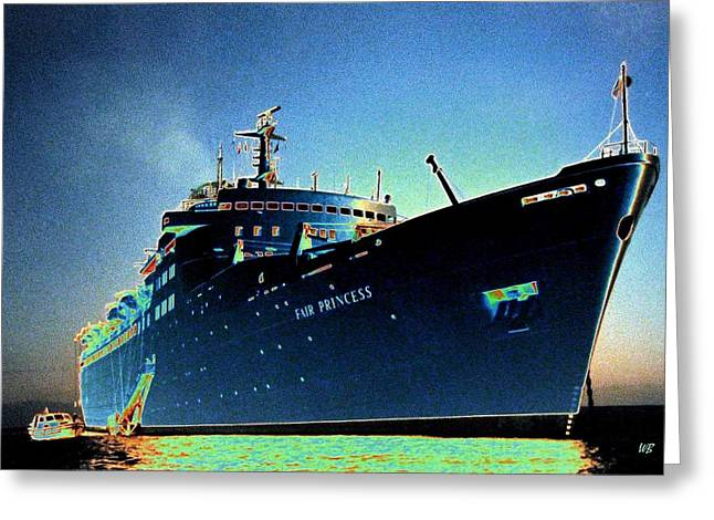 Shipshape 9 Greeting Card by Will Borden