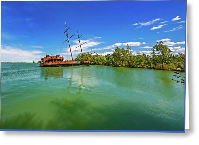 Shipwreck - La Grande Hermine 2  Greeting Card