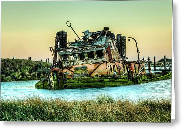 Shipwreck - Mary D. Hume Greeting Card