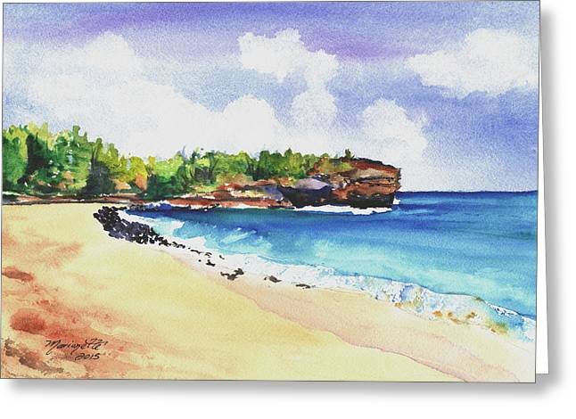 Shipwreck's Beach 2 Greeting Card