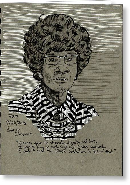Shirley Chisholm Greeting Card