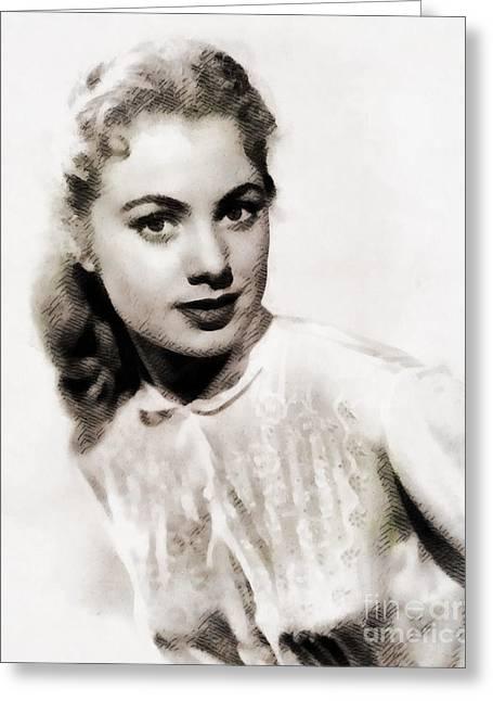 Shirley Jones, Vintage Actress Greeting Card