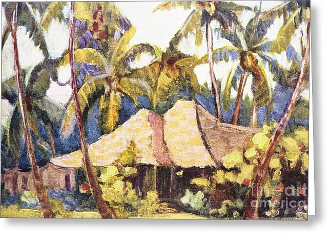 Shirley Russell Art Greeting Card by Hawaiian Legacy Archive - Printscapes