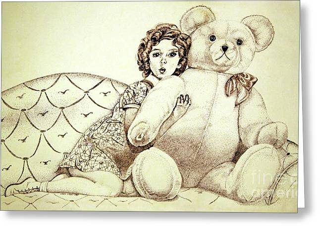 Shirley Temple Greeting Card