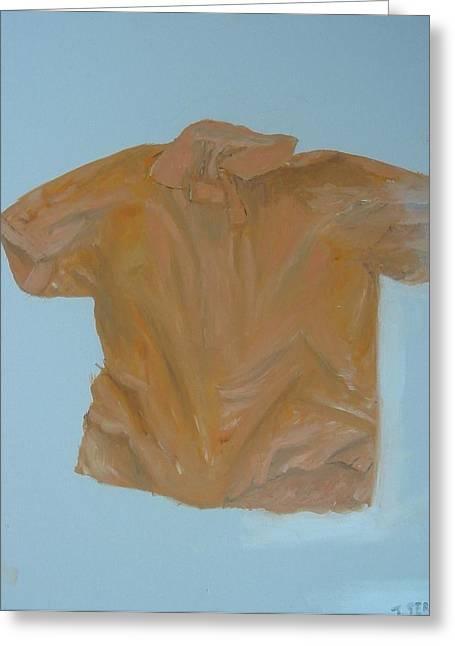 Shirt Greeting Card by John Terry