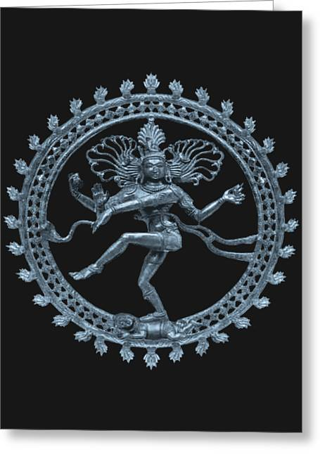 Shiva - Nataraja- Cosmic Dancer Greeting Card
