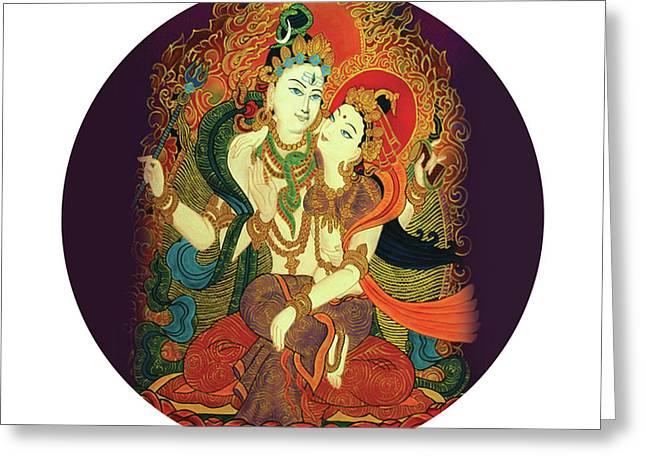 Shiva Shakti Greeting Card
