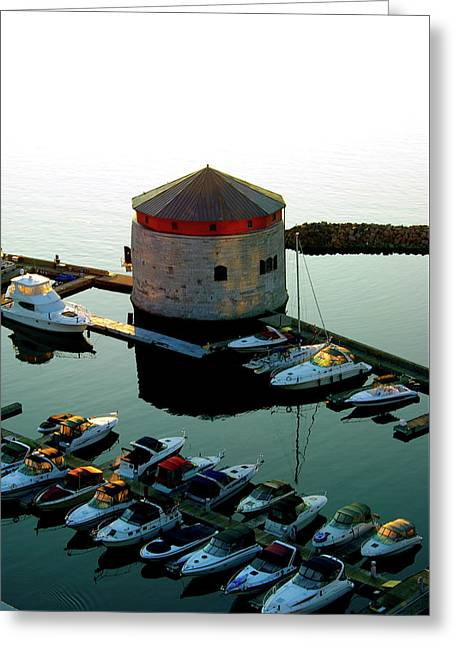 Shoal Tower Greeting Card by Paul Wash