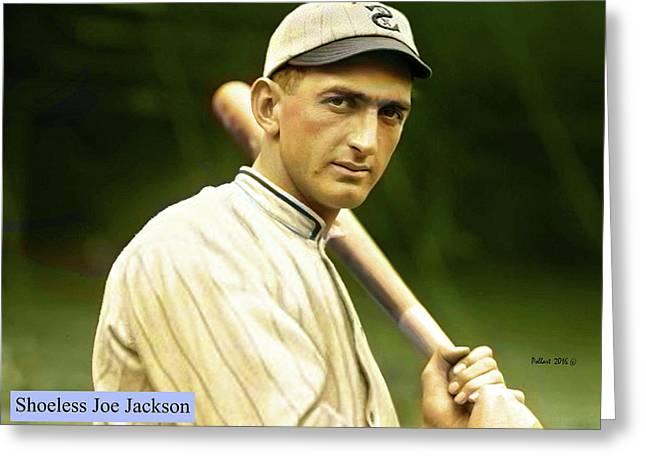 Shoeless Joe Jackson, White Sox Greeting Card