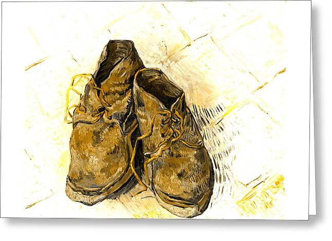 Greeting Card featuring the photograph Shoes by John Stephens