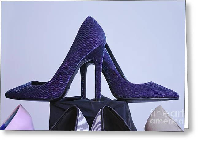 Shoes Greeting Card by Terri Waters
