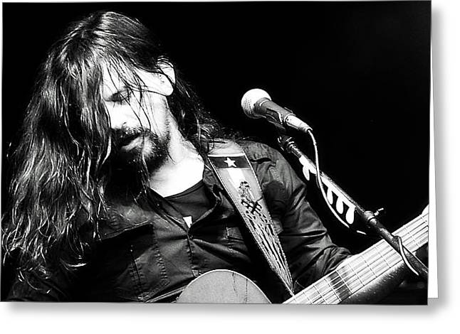 Shooter Jennings - Rebel Greeting Card