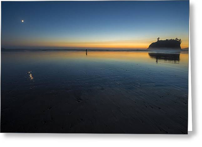 Shooting The Last Light II Greeting Card by Jon Glaser