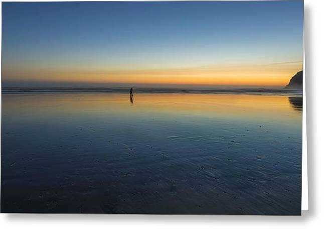 Shooting The Last Light Greeting Card by Jon Glaser