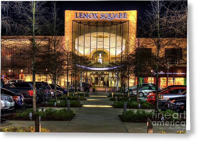 Shopping Atlanta Lenox Square Mall Art Greeting Card by Reid Callaway