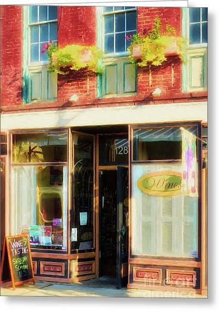 Shops At Cincinnati's Findlay Market # 5 Greeting Card