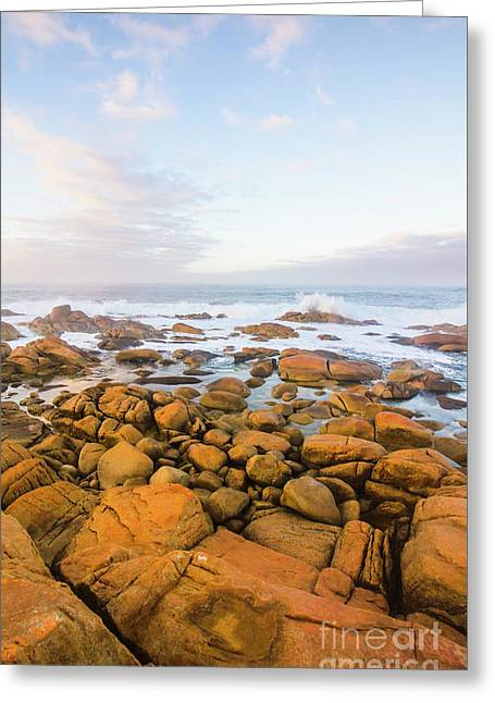 Shore Calm Morning Greeting Card