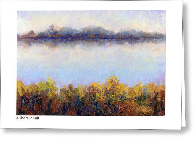 Shore In Fall Greeting Card