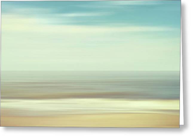 Shore Greeting Card by Wim Lanclus