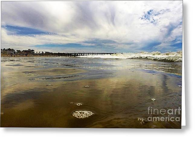 Shoreline Greeting Card by Dan Holm