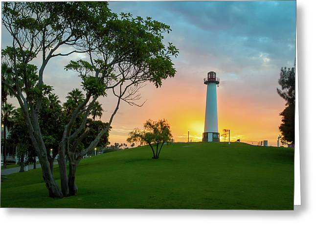 Shoreline Lighthouse Greeting Card