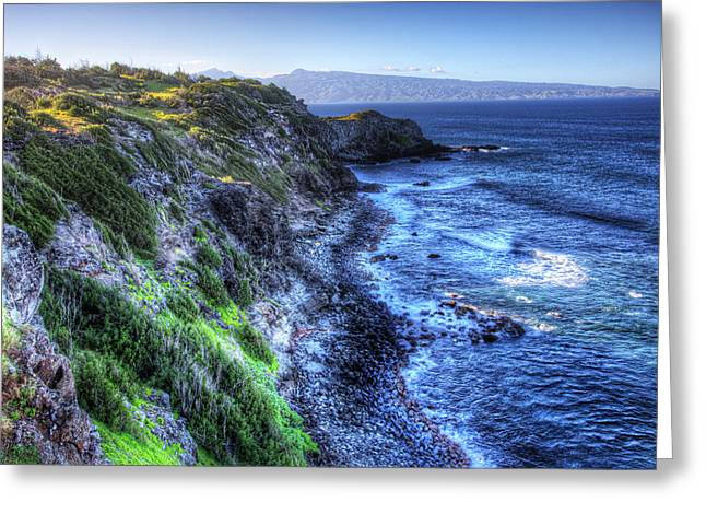 Greeting Card featuring the photograph Shores Of Maui by Shawn Everhart