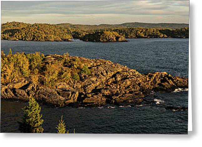 Greeting Card featuring the photograph Shores Of Pukaskwa by Doug Gibbons