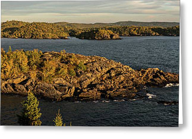 Shores Of Pukaskwa Greeting Card