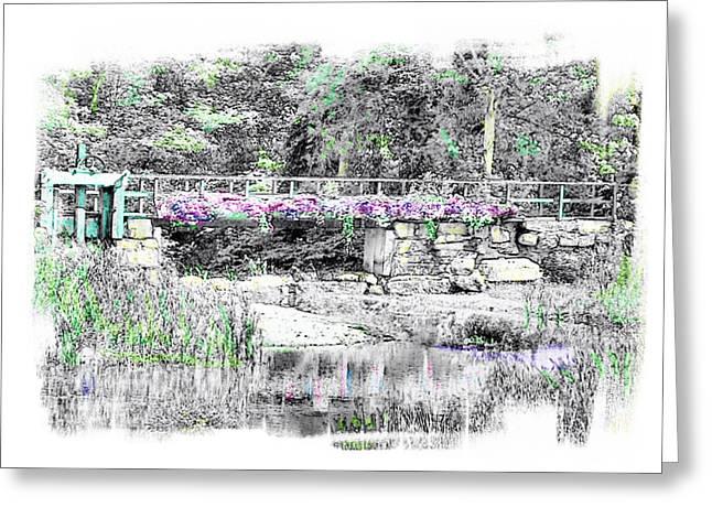 Shorey Park Bridge Greeting Card