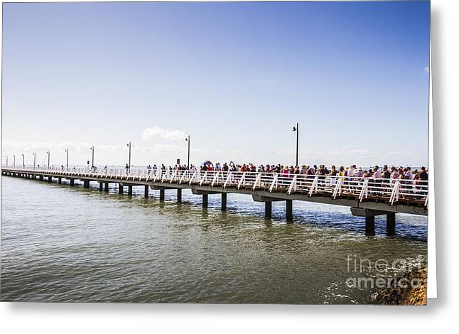 Shorncliffe Pier Opening Ceremony Greeting Card
