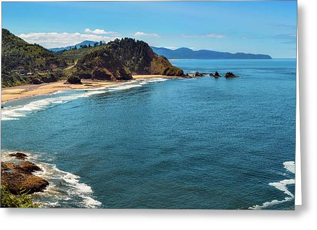 Greeting Card featuring the photograph Short Beach, Oregon by John Hight