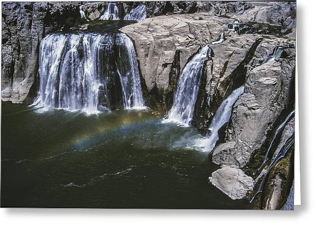 Shoshone Falls Idaho Greeting Card