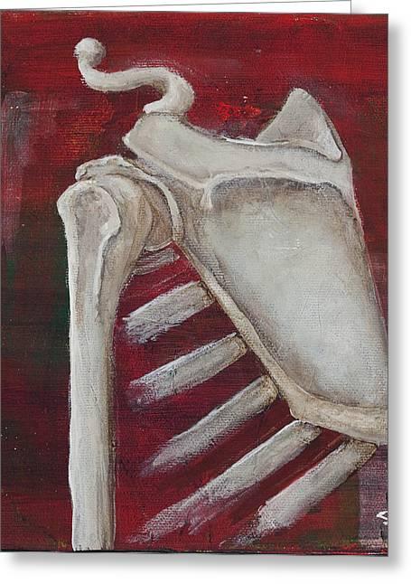 Shoulder Greeting Card by Sara Young