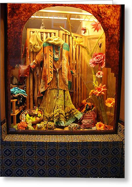Show Window Greeting Card
