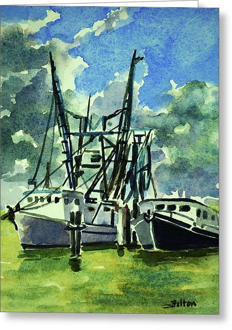 Boats On The Halifax 7-6-17 Greeting Card