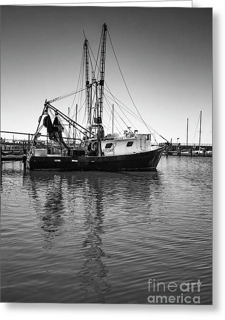 Greeting Card featuring the photograph Shrimp Boat by Ron Sadlier