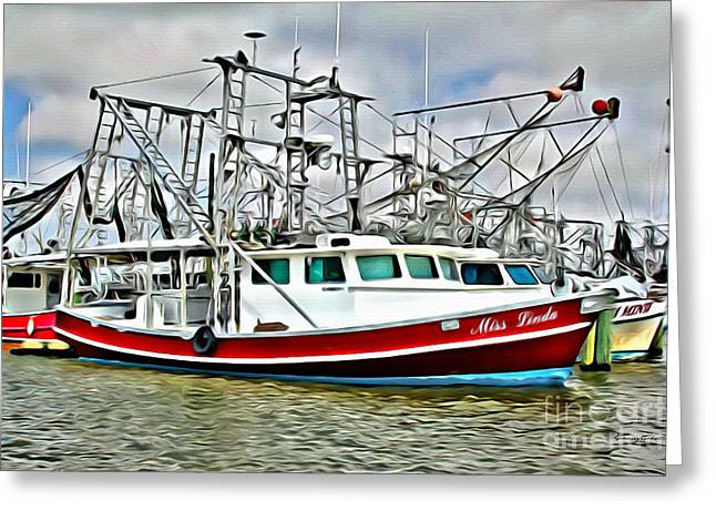 Shrimpers 2 Greeting Card