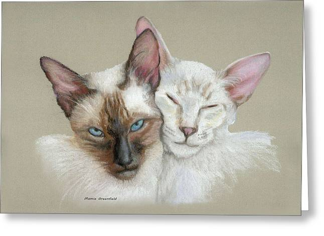 Siamese If You Please Greeting Card