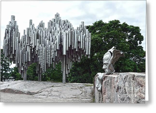 Sibelius Monument Greeting Card