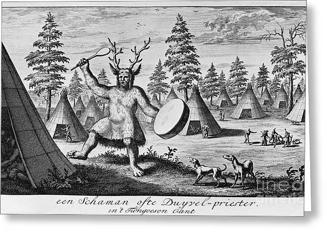 Siberia: Shaman Greeting Card